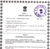 CITC Registration Certificate