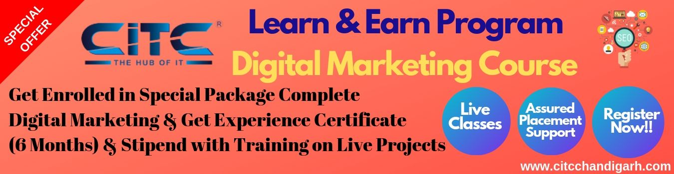 Digital Marketing Course with earning
