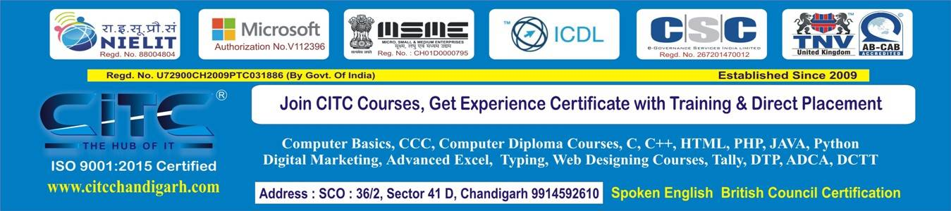 Job oriented Courses