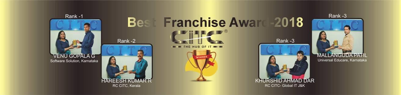 CITC Best Franchise Award